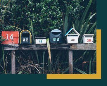 Briefkasten für Nachrichten
