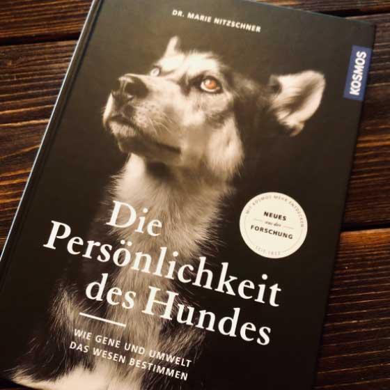 Buch Die Persönlichkeit des Hundes von Marie Nitzschner